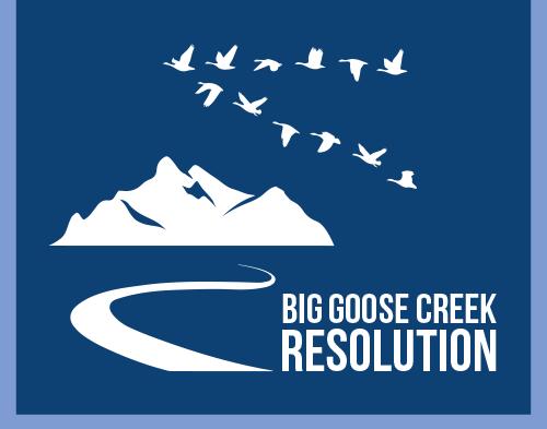 Big Goose Creek Resolutions